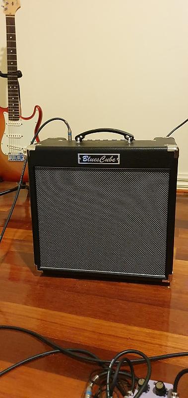 roland blues cube hot 30 watt tube logic guitar combo reverb. Black Bedroom Furniture Sets. Home Design Ideas