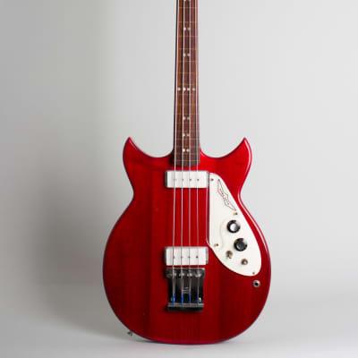 Micro-Frets  Signature Fretless Electric Bass Guitar (1973), original black tolex hard shell case. for sale