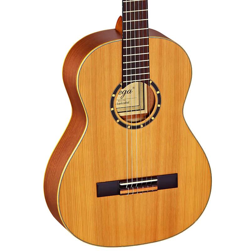 Ortega Family Series 1/2 Size Cedar Top Nylon Acoustic Guitar R122-1/2 w/GigBag