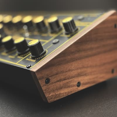 Upgraded Solid Walnut Cheeks for Behringer Semimodular Eurorack Synth Modules