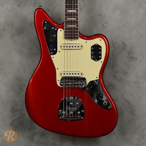 Fender Jaguar Candy Apple Red 1968