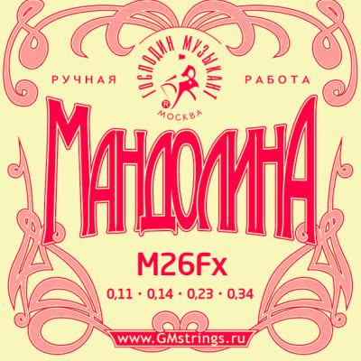 M26Fx Mandolin String Set, Gospodin Muzikant