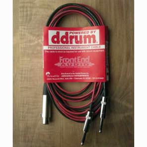 ddrum PRO-DRT Kick/Tom Trigger Cable - 15'