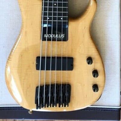 Modulus Quantum Q 6 Sweetspot Bass Guitar  Flame Maple for sale