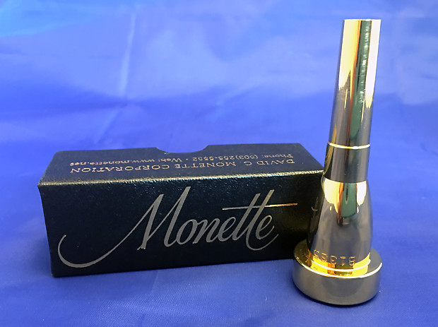 BRAND NEW Monette Silver 2 Trumpet Mouthpiece in B-flat