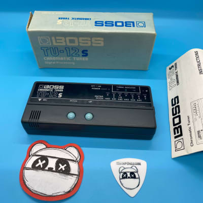 Rare | Boss TU-12s Chromatic Tuner w/Original Box | Fast Shipping!
