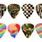 D'Andrea Guitar Picks  Wild Celluloid 12 Picks Medium Unique Design 1 Dozen image