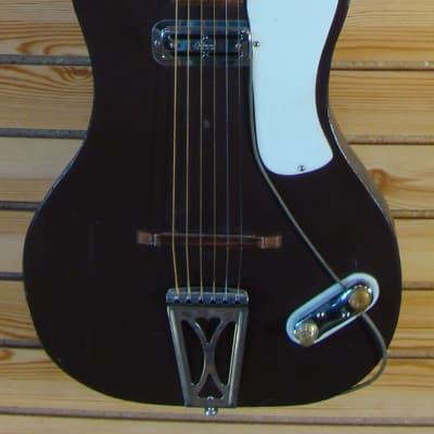Burke USA Aluminum/Magnesium Neck Guitar early 60`s Brown for sale