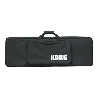 Korg Soft Case For Krome 61 Music Workstation, Black