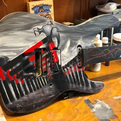 Bootleg Guitars HNHS Neck thru body 2018 Custom Finish for sale