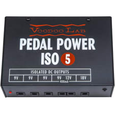 Voodoo Lab Pedal Power ISO-5 Pedalboard Power Supply