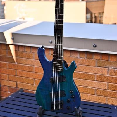 Geist Custom Instruments Phantom BS5 5-String Bass for sale