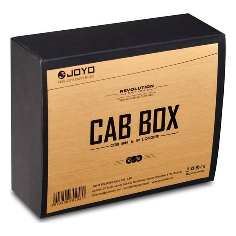 joyo r 08 cab box cabinet simulator and ir loader pedal reverb. Black Bedroom Furniture Sets. Home Design Ideas