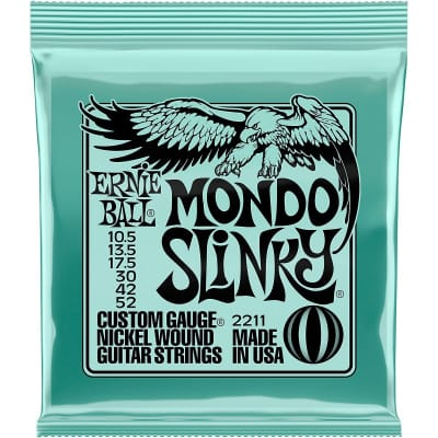 Ernie Ball 2211 Mondo Slinky Nickel Wound Electric Guitar Strings - .0105-.052