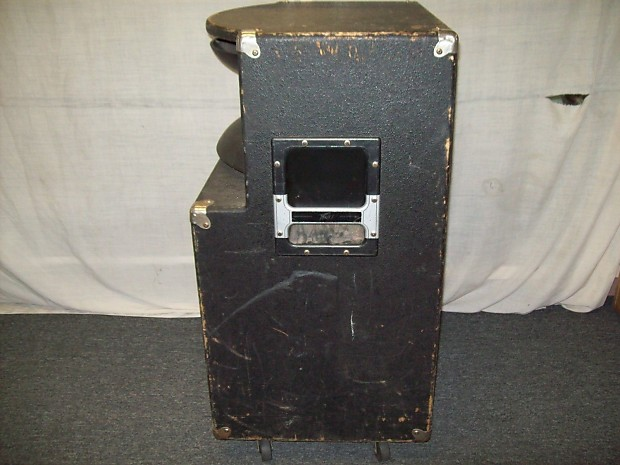 "Peavey SP2 Black Widow Equipped 1X15"" Cabinet W/"