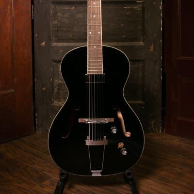 Framus Vintage 5/51 Studio - Solid Black High Polish Electric Guitar for sale