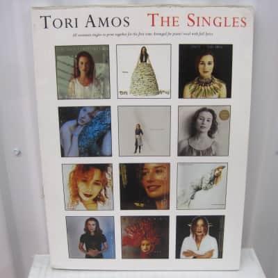 Tori AmosThe Singles Piano Vocal Lyrics Sheet Music Song Book Songbook