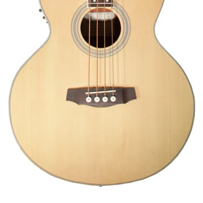 Denver DB44SCE-NAT Full Size Acoustic Bass with Fishman Pickup System for sale