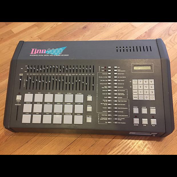 rare vintage linn 9000 drum machine sequencer reverb. Black Bedroom Furniture Sets. Home Design Ideas