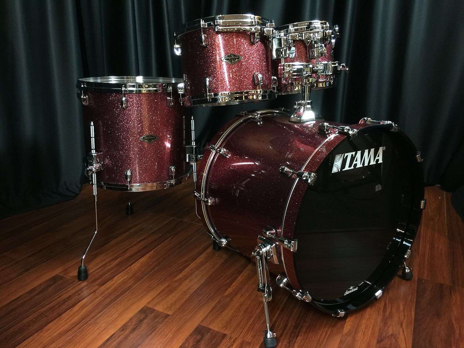 Tama Drums Sets Starclassic Performer B B Coral Red Sparkle Lacquer