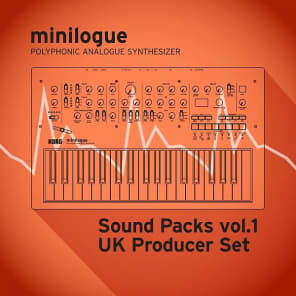 "Korg minilogue/Sound Packs vol.1 ""UK Producer Set"""