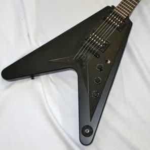 Epiphone Flying V Goth Matte Black 2002