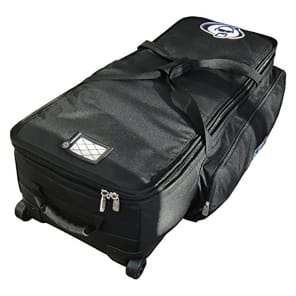 """Protection Racket 5038W-09 Drum Hardware Bag with Wheels (38x14x10"""")"""