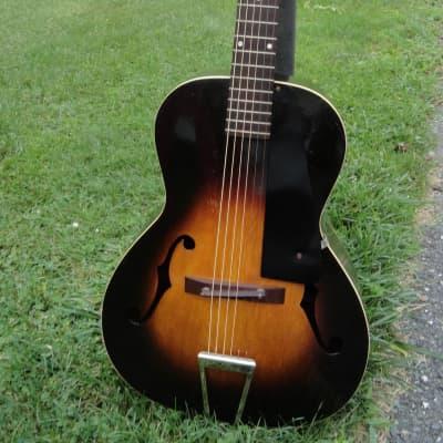Vintage Kalamazoo KG-21 1936 Arch Top Guitar w original case.  Amazingly Excellent Condition for sale