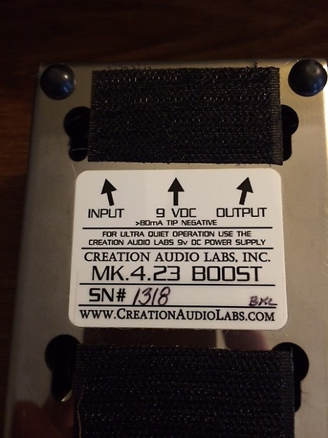 Creation Audio Labs MK 4 23 Boost | Dylan's Gear Depot