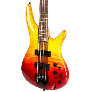 Ibanez SR870-ALG Soundgear Flamed Maple Top Active 4-String Bass Autumn Leaf Gradiation