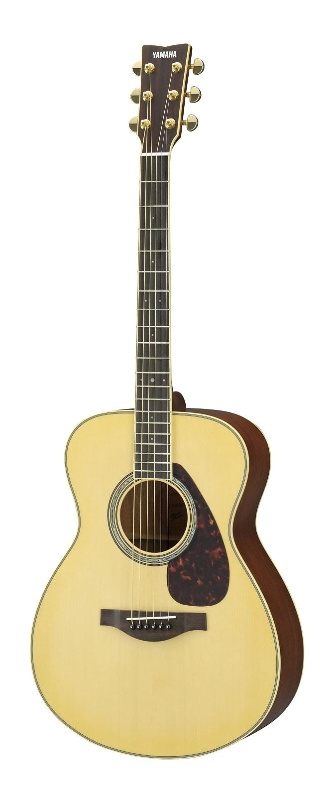 Yamaha LS6M Spruce/Mahogany Concert Acoustic/Electric Guitar Natural