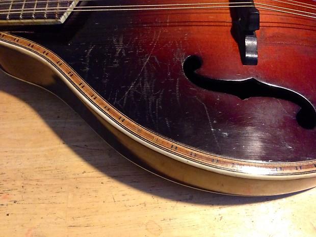vintage harmony mandolin