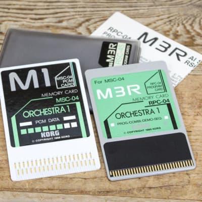 Korg RSC-04S Orchestra 1 ROM Card Set for M3R RPC-04/MSC-04