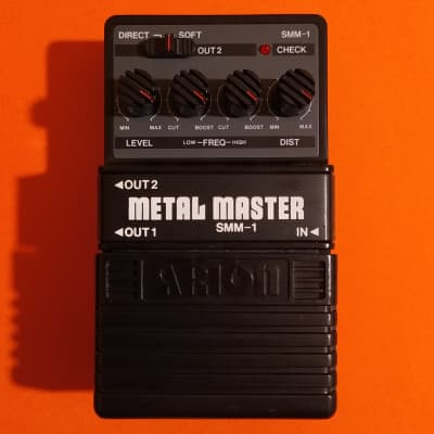 Arion SMM-1 Stereo Metal Master (Boss HM-2 Heavy Metal clone) w/box, manual & catalog for sale