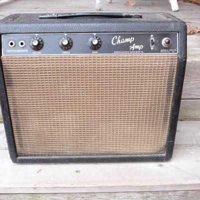 Fender champ BF Black panel  1965
