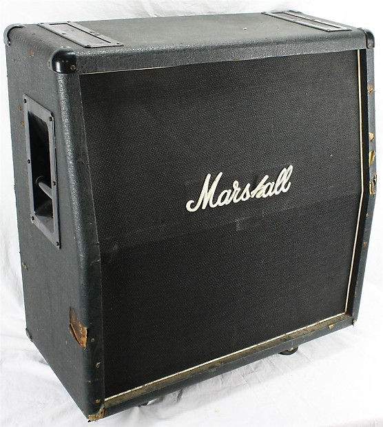 marshall 1960 lead 4x12 300w 16ohm electric guitar amplifier reverb. Black Bedroom Furniture Sets. Home Design Ideas