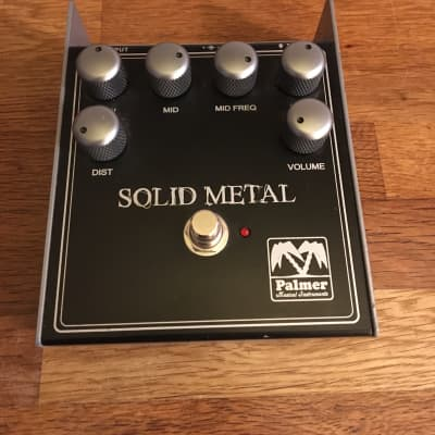 Palmer Solid Metal - solid distortion pedal, boxed, very little use for sale