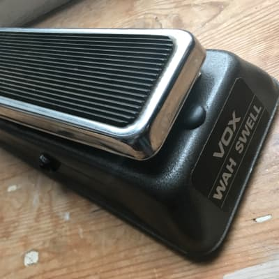 Vintage rare late 60s Vox Sola Sound pre Colorsound Wah Swell guitar pedal amp for sale