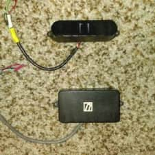 Rare German Ultrasonic Bill Lawrence Reference 6 and Reference 3 Pickup Set As used by Kirk Hammett!