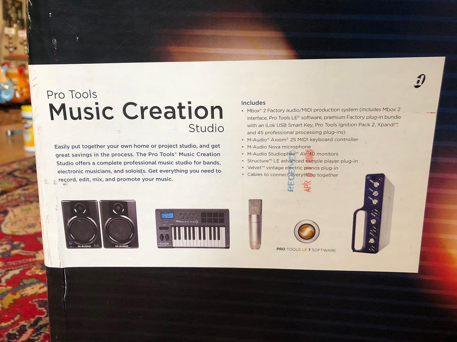 M-Audio Pro Tools Music Creation Studio