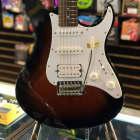 Yamaha PAC112J Pacifica Double Cutaway Electric Guitar (Violin Sunburst) image
