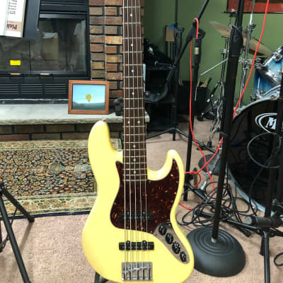 Fender Deluxe Active Jazz Bass V 2006 for sale