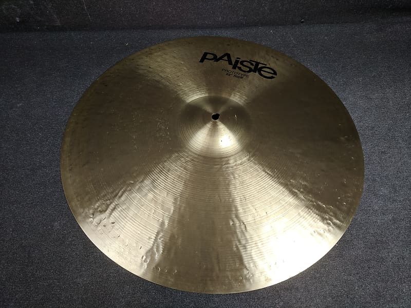 paiste protoype 22 ride drum cymbal made in switzerland reverb. Black Bedroom Furniture Sets. Home Design Ideas