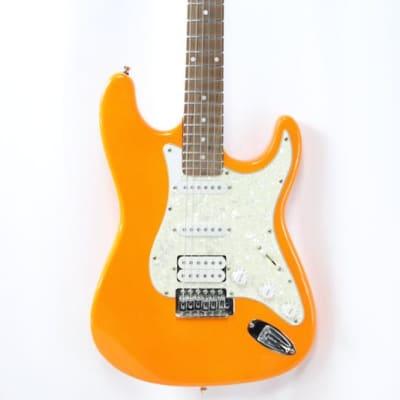 Orange Electric Guitar Neon Orange