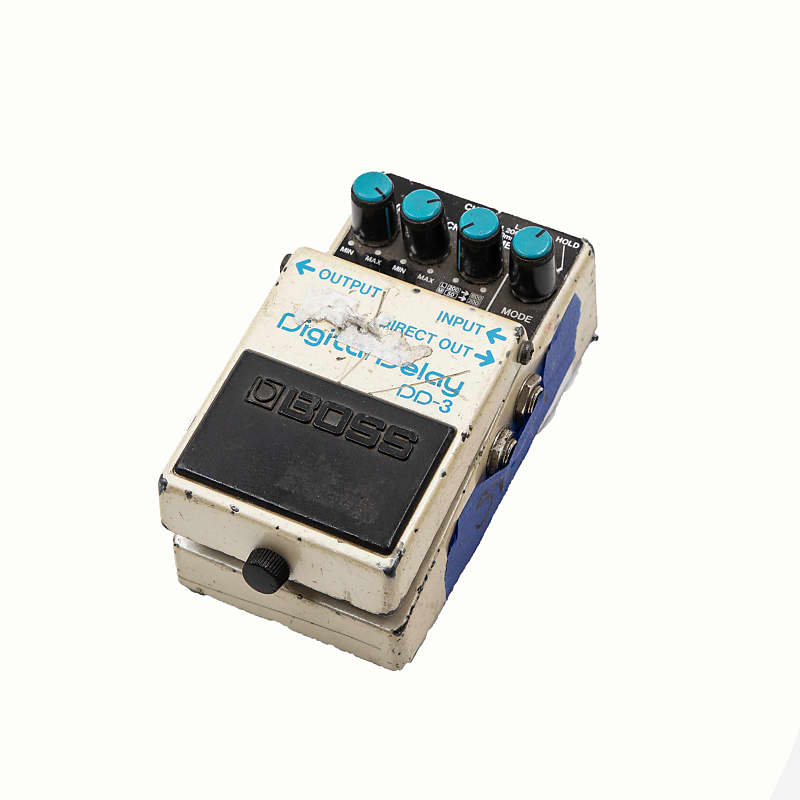 boss dd 3 digital delay owned by sonic youth reverb. Black Bedroom Furniture Sets. Home Design Ideas