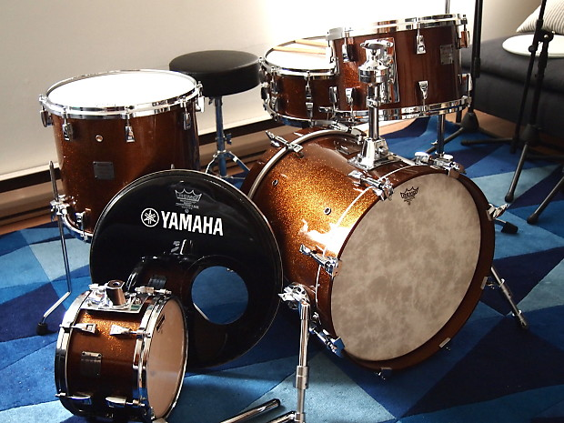 yamaha maple custom absolute ultimate bop jazz drum kit reverb. Black Bedroom Furniture Sets. Home Design Ideas