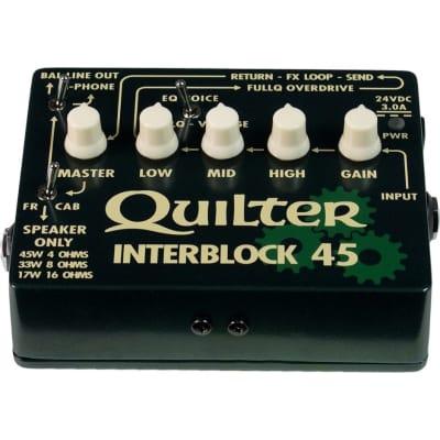 Quilter InterBlock 45 Guitar Amplifier Head (45 Watts) for sale