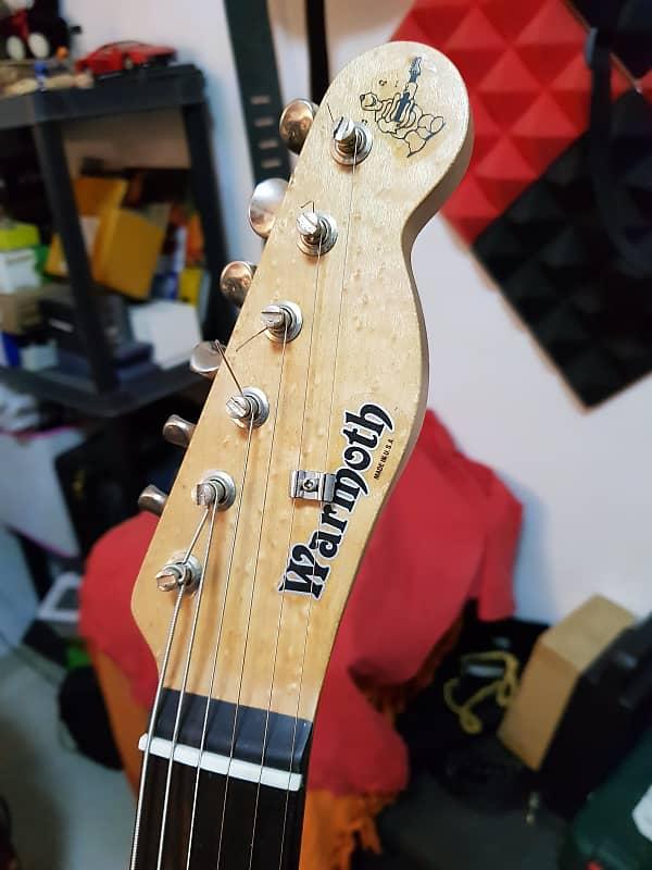 Warmoth Tele Neck 24 75 Birdseye Maple/Ebony | Guitar stuff