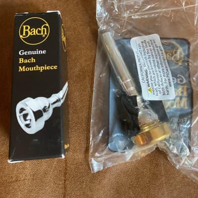 Bach 3513CGR 3C Trumpet Mouthpiece Gold Rim Series
