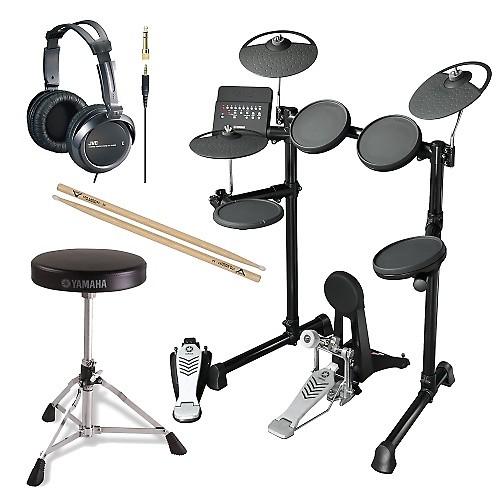 Yamaha dtx450k electronic drum kit 4 piece bundle focus for Yamaha dtx450k 5 piece electronic drum kit